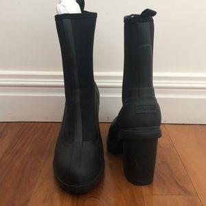 Hunter Heeled sock short Wellington boots